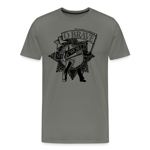 Brave New World - Men's Premium T-Shirt