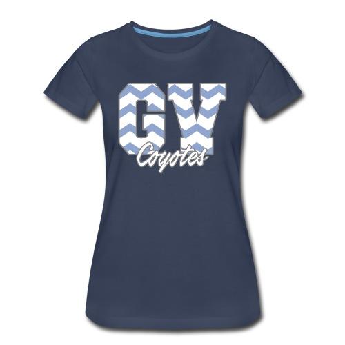GVHS Wavy Women's T-Shirt - Women's Premium T-Shirt