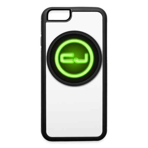 CJ Strength Logo iPhone 6/6s Rubber Case - iPhone 6/6s Rubber Case