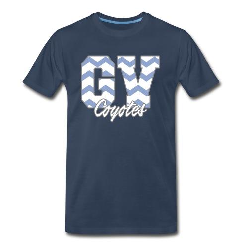 GVHS Wavy Men's T-Shirt - Men's Premium T-Shirt