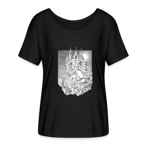 Haunted Castle Womens loose fit - Women's Flowy T-Shirt