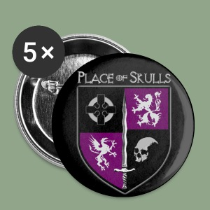 Place of Skulls - Crest Button - Small Buttons