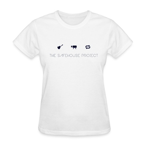 The Safehouse Project GUITAR FILM REPEAT Basic Tee Women's - Women's T-Shirt
