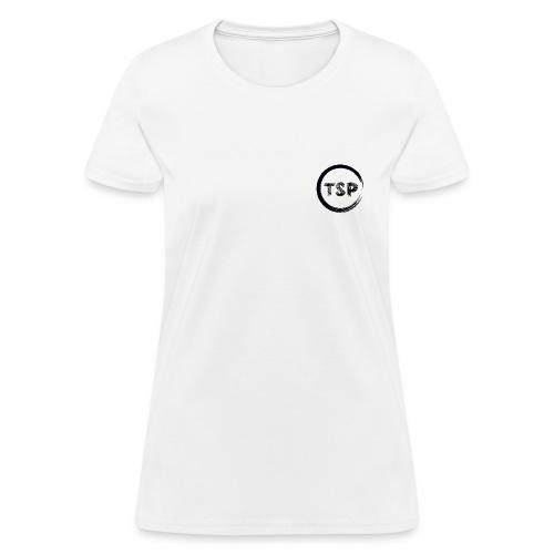 Women's TSP White Logo Tee  - Women's T-Shirt