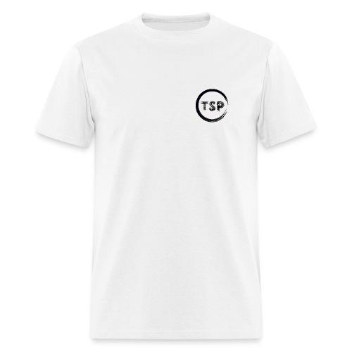 Men's TSP White Logo Tee - Men's T-Shirt