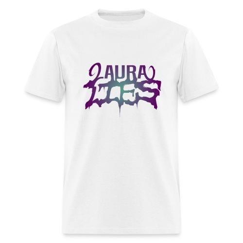 laura lies white T - Men's T-Shirt