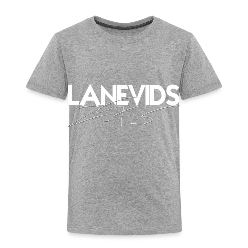 LaneVids Signature - Toddler Premium T-Shirt