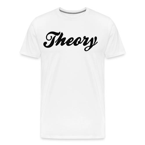 white theory shirt - Men's Premium T-Shirt