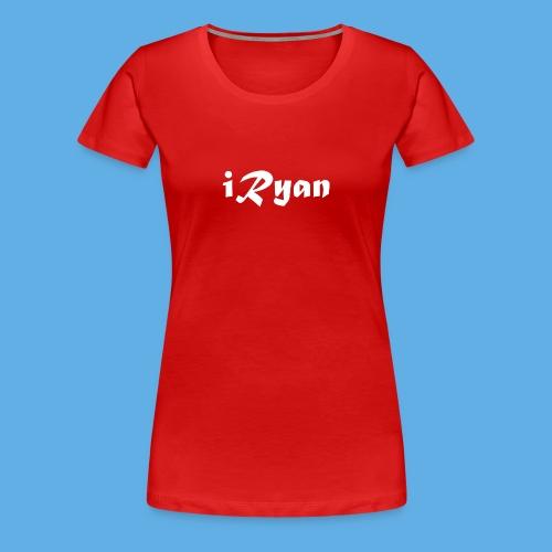 iRyan Logo Design Female T-Shirt - Women's Premium T-Shirt