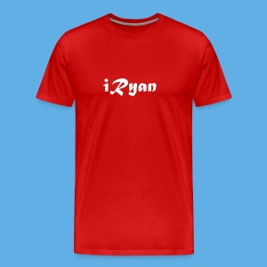 iRyan Logo Design Male T-Shirt - Men's Premium T-Shirt
