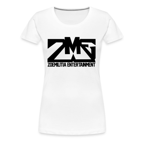 Woman's ZME Shirt White - Women's Premium T-Shirt