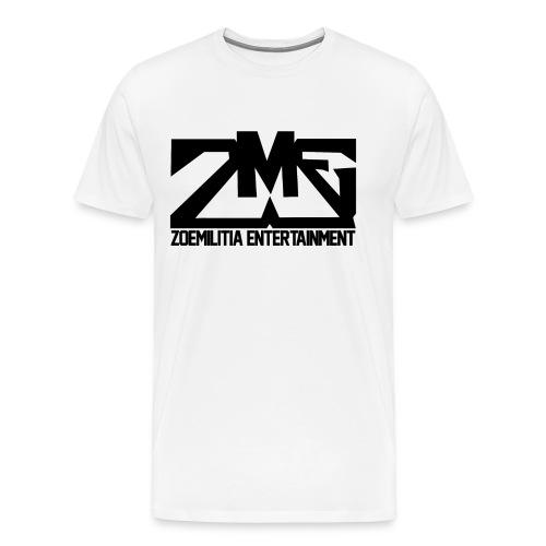 Men's ZME Shirt White - Men's Premium T-Shirt