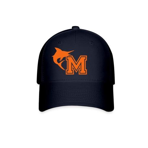 Men's Miami Marlins New Era Blue Performance Fitted Hat - Baseball Cap