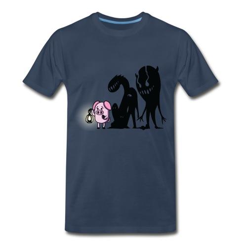 Men's Slapped Ham Monster Tee - Men's Premium T-Shirt