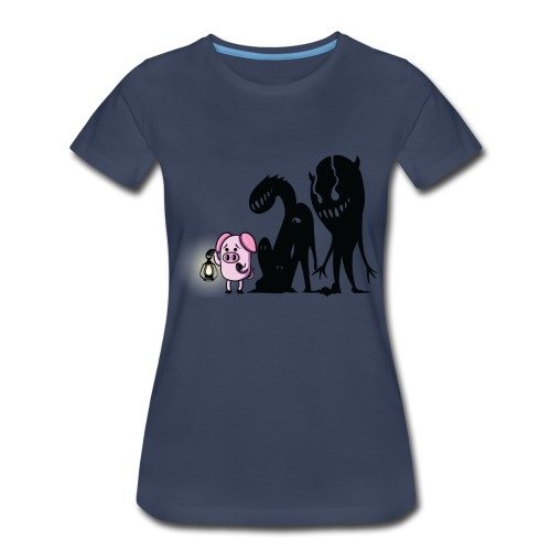 Women's Slapped Ham Monster Tee - Women's Premium T-Shirt