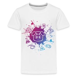 Children's Slapped Ham Paint Splat Tee - Kids' Premium T-Shirt