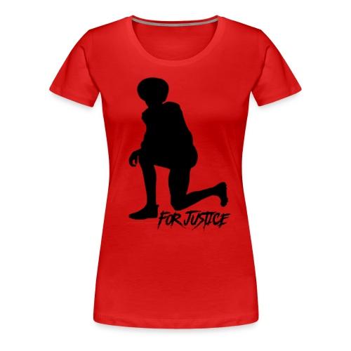 Kneel for Justice - Women's Premium T-Shirt