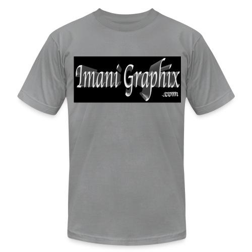 Imani Graphix Logo - Men's  Jersey T-Shirt