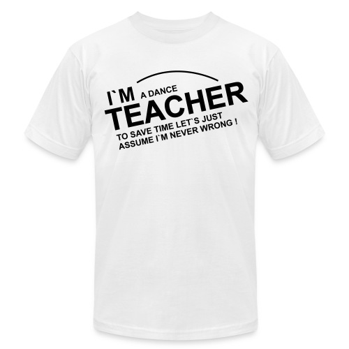 Men's T-Shirt by American Apparel in Flex Print (smooth) - Men's  Jersey T-Shirt
