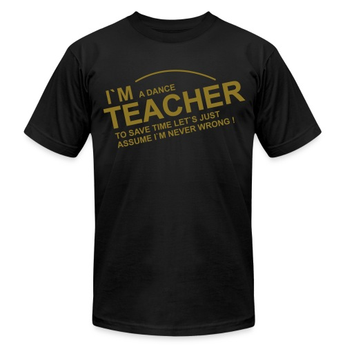 Men's T-Shirt by American Apparel in Flex Print (smooth) - Men's Fine Jersey T-Shirt