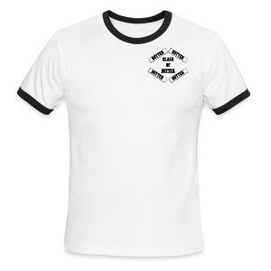 Men Ringed Butter Shirt[Best In Color White] - Men's Ringer T-Shirt
