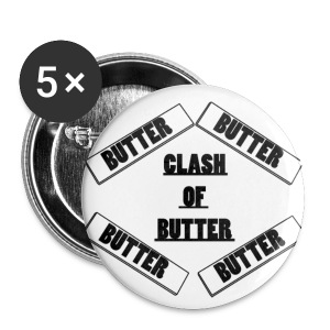 Small Butter Pins - Small Buttons