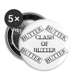 Large Butter Buttons - Large Buttons