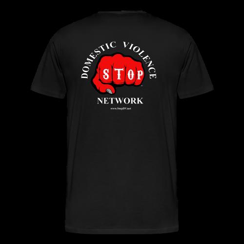 Men's Big & Tall T-shirt Stop Domestic Violence Network™ - Men's Premium T-Shirt