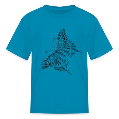 Tribal Butterfly Kids T Shirt from South Seas Tees - Kids' T-Shirt