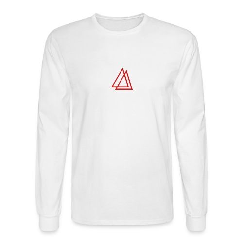 Entropy Red Logo Long Sleeve - Men's Long Sleeve T-Shirt