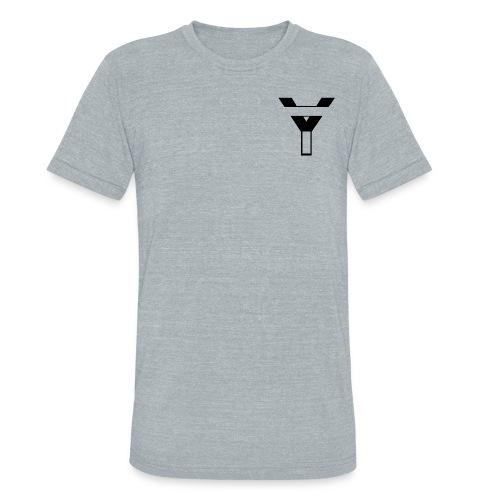 Unisex Tri-Blend T-Shirt YegsTv Logo (Black) - Unisex Tri-Blend T-Shirt