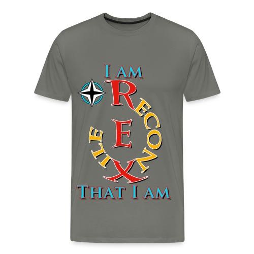 Reconxile Rex - I am that I am - Men's Premium T-Shirt