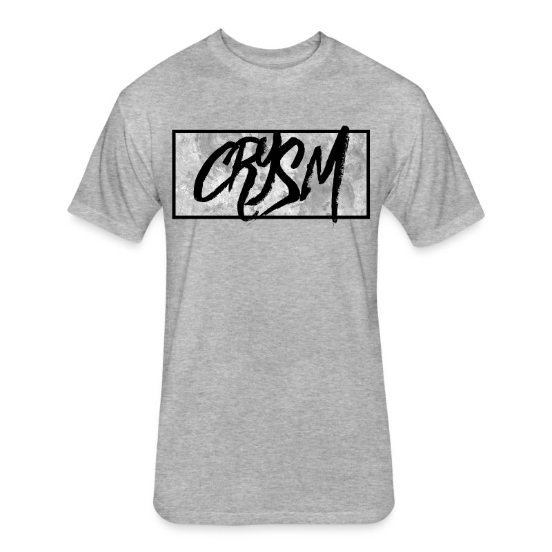 Crysm Graffiti White - Fitted Cotton/Poly T-Shirt by Next Level