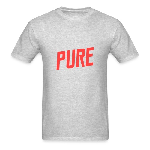 RED -PURE™ T-Shirt - Men's T-Shirt