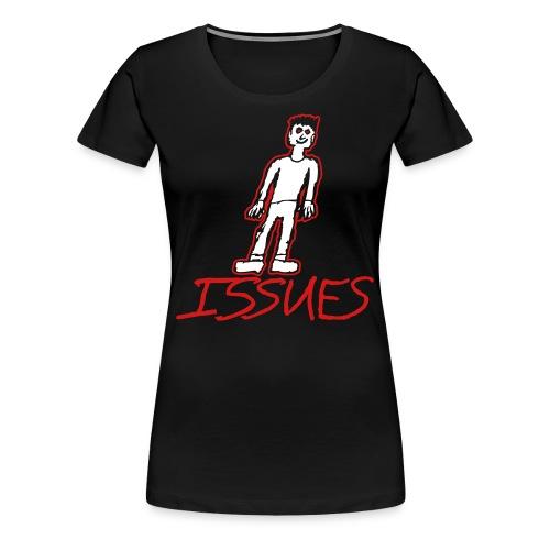 ISSUES Guy Women's T-Shirt - Women's Premium T-Shirt