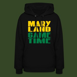 MD Gametime black - Women's Hoodie