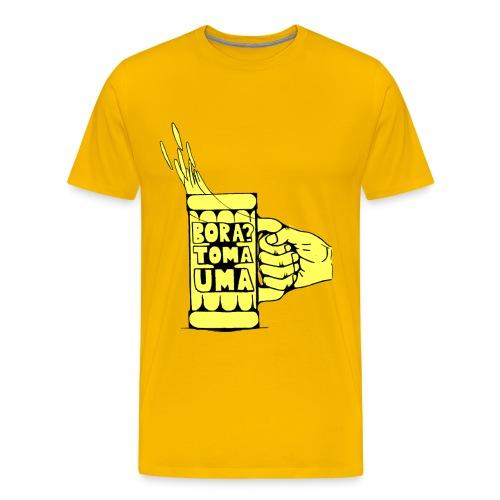 Bora Toma Uma - Men's Premium T-Shirt