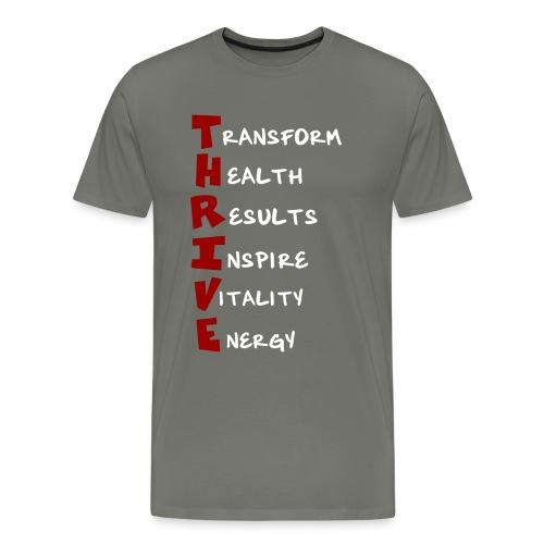 Womens Premium T-Shirt - Thrive Meaning - Men's Premium T-Shirt