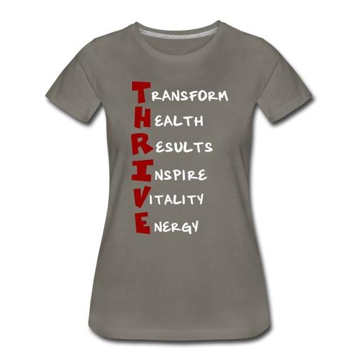 Unisex T-Shirt - Thrive Meaning - Women's Premium T-Shirt