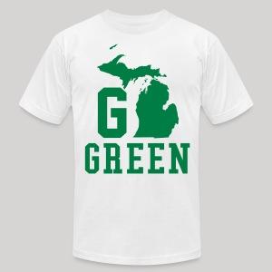 Go GREEN - Men's Fine Jersey T-Shirt