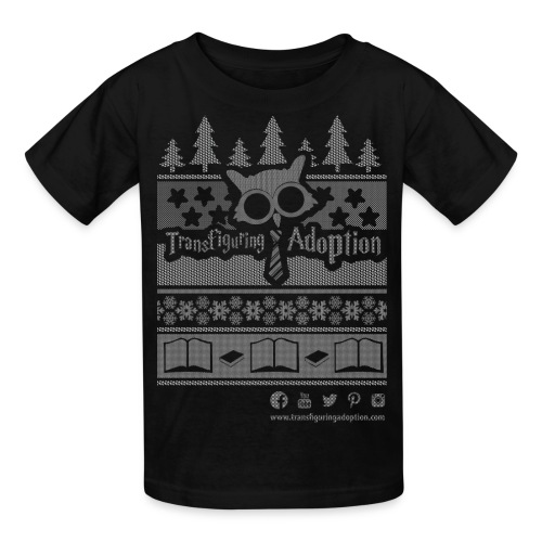 Ugly Christmas Shirt - Kids' T-Shirt