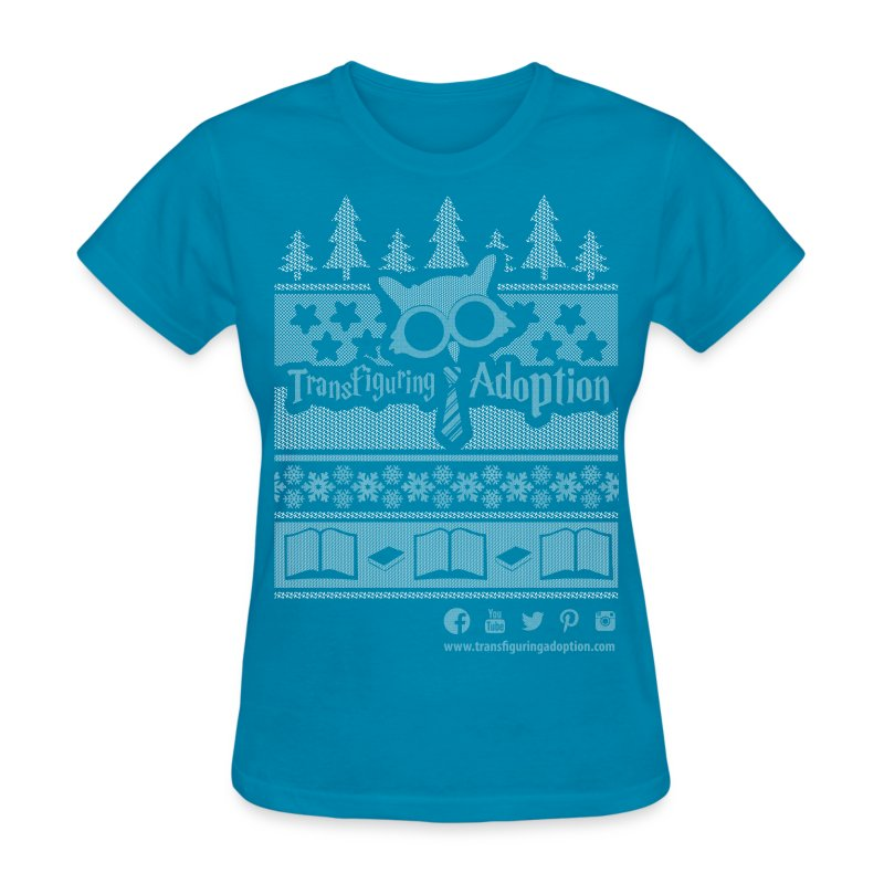 Ugly Christmas Shirt - Women's T-Shirt