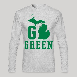 Go GREEN - Men's Long Sleeve T-Shirt by Next Level