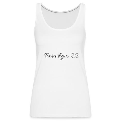 Women's Paradigm 22 Tank - Women's Premium Tank Top