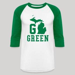 Go GREEN - Baseball T-Shirt