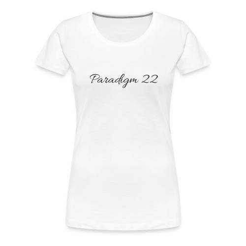 Women's Paradigm 22 Tee - Women's Premium T-Shirt