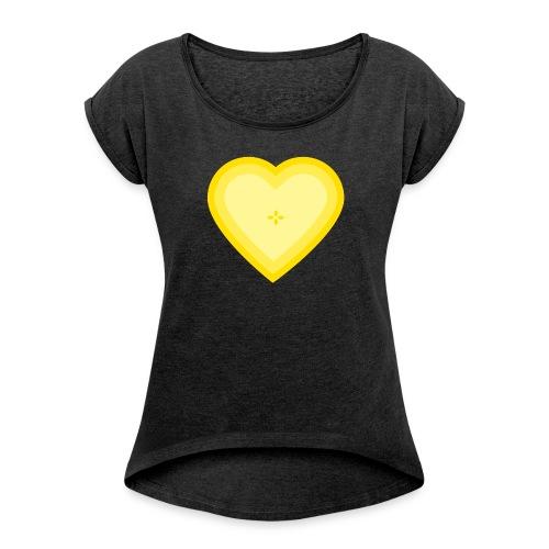 T-shirt Fruit Love - T-shirt Femme à manches retournées