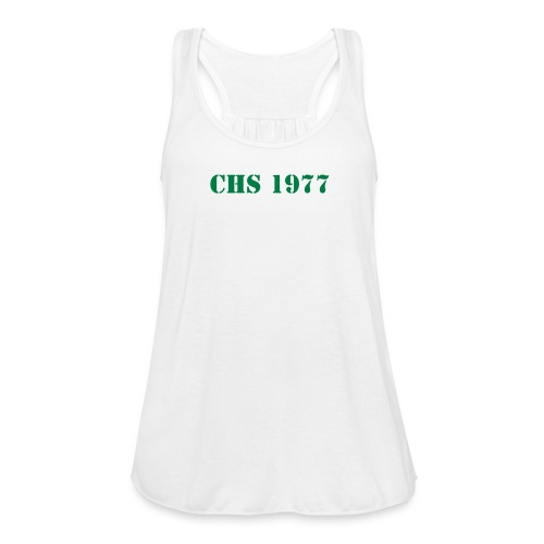 CHS 1977 Women's No Sleeve - Women's Flowy Tank Top by Bella
