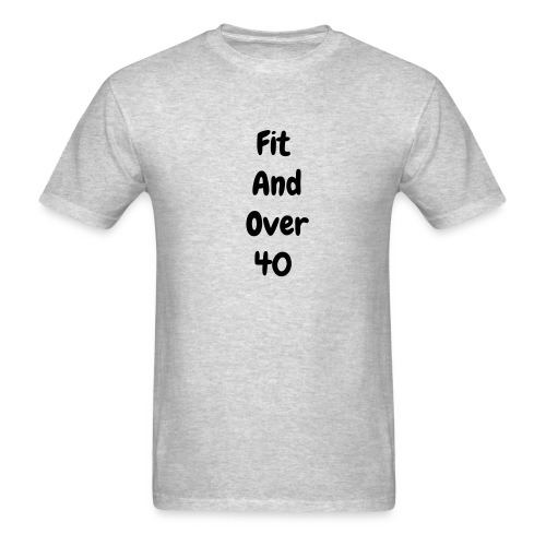 Fit and over fourty - Men's T-Shirt