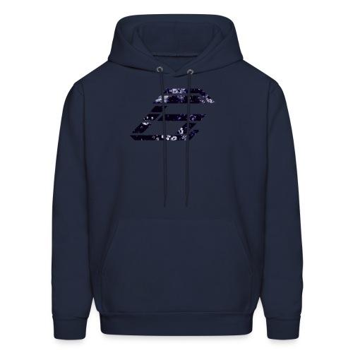 Revised Dark Floral Sweatshirt - Men's Hoodie